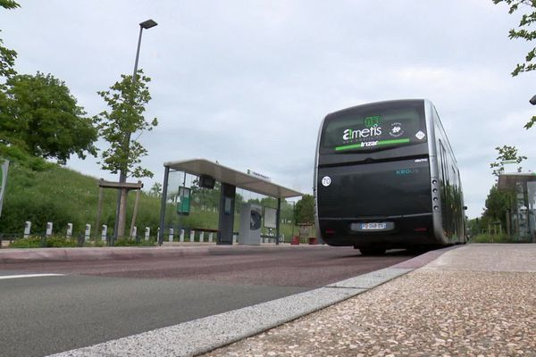Mercredi 8 juillet, les chauffeurs de bus d'Amiens ont respecté une minute de silence en hommage au conducteur agressé à Bayonne