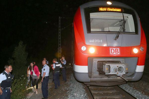 Le TER à bord duquel a eu lieu l'attaque