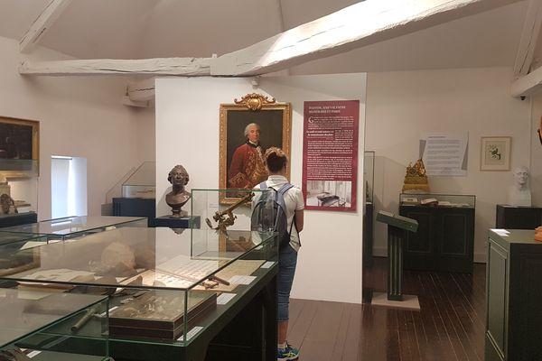 Jeudi 21 mai, au musée Buffon à Montbard. Après avoir fermé pendant le confinement, le musée a rouvert le 20 mai et accueille les visiteurs du mercredi au dimanche, de 14 heures à 19 heures.