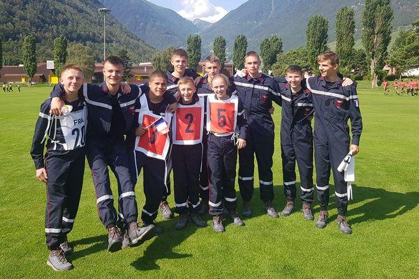 Les jeunes Samariens ont livré une prestation de qualité lors des 22èmes jeux internationaux du CTIF