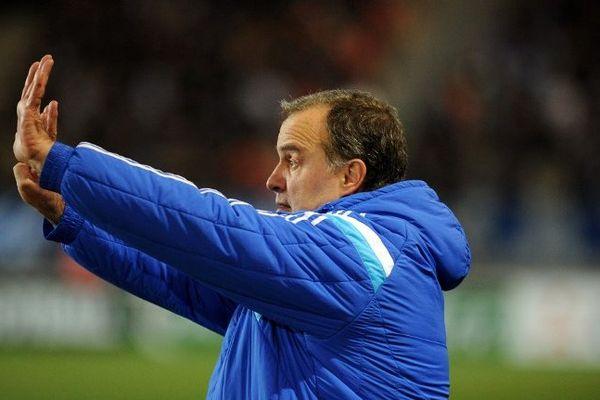 Marcel Bielsa, l'entraîneur de l'OM.