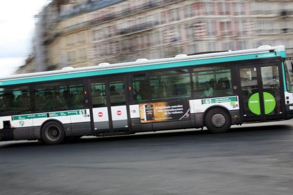 Un bus de la RATP en circulation à Paris (illustration).