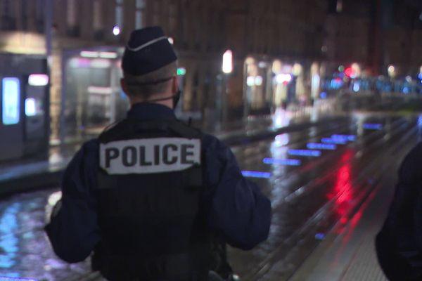 Opération de contrôle dans les rues de Bordeaux mercredi 30 décembre.