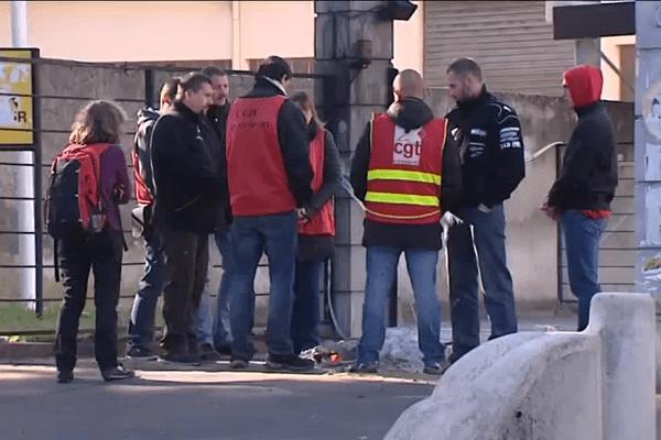 9/10/15 - Lyon - La grève chez Prosegur