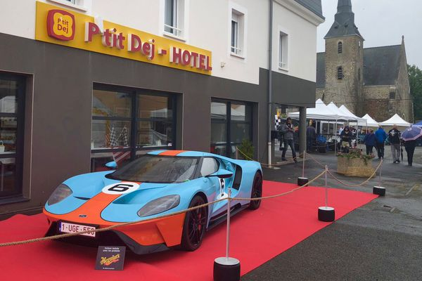 L'épopée Ford GT, c'est la thématique des R'Hunaudières cette année, une des nombreuses attractions durant la semaine des 24 Heures du Mans.
