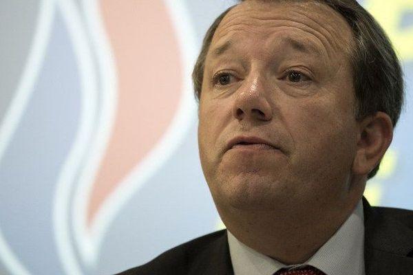 Christophe Boudot, tête de liste du FN aux élections régionales en Auvergne-Rhône-Alpes