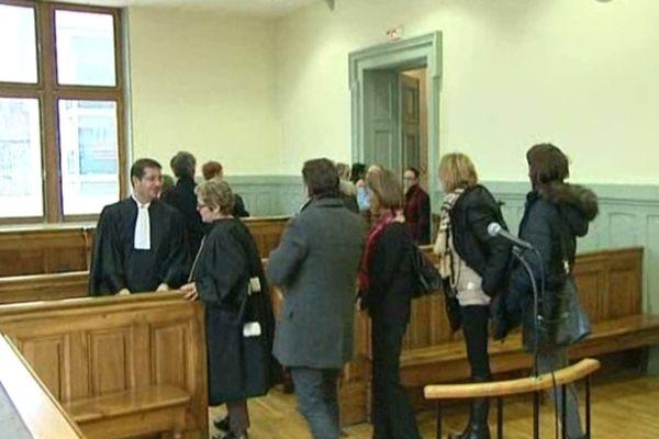 L'audience au tribunal correctionnel de Bonneville (Haute-Savoie)