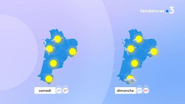 Le week-end sera très agréable avec des températures revenues aux normales de saison.