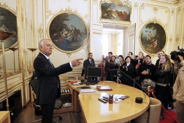 Hier samedi, le Premier ministre était le guide des journées du patrimoine à Matignon.