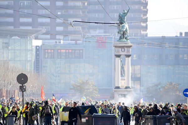 La manifestation des Gilets Jaunes est interdite dans un périmètre défini.