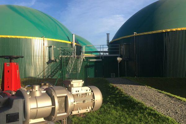 Technique Biogaz a installé une première usine dans le sud des Deux-Sèvres à Celles-sur-Belle.