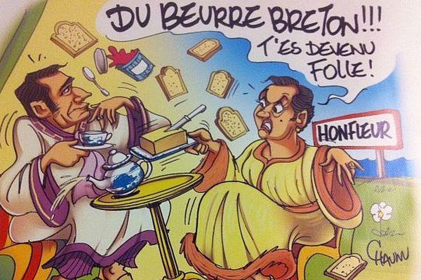 """Michel Serrault, """"illustre normand"""" s'était installé près de Honfleur"""