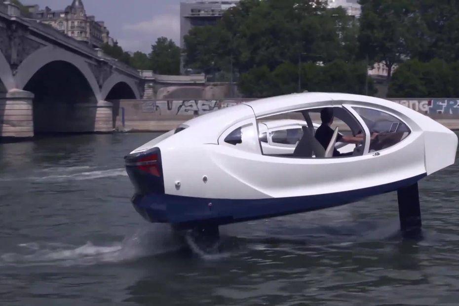 VIDEO. Haute-Savoie : une start-up veut expérimenter des taxis volants sur le lac d'Annecy
