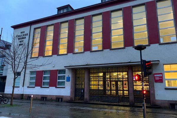 Le collège Vauban, là où va s'installer le lycée franco-allemand de Strasbourg à partir de septembre 2021