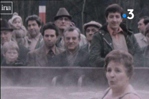 Le premier bassin thermal d'Amnéville a été inauguré en 1980.