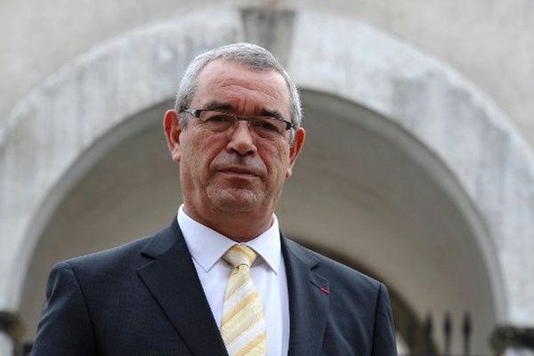 Yves Auvivet, le président du conseil départemental de Vendée.