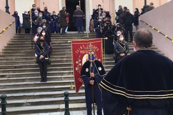 La procession de la Saint-Joseph a débuté à 15h.