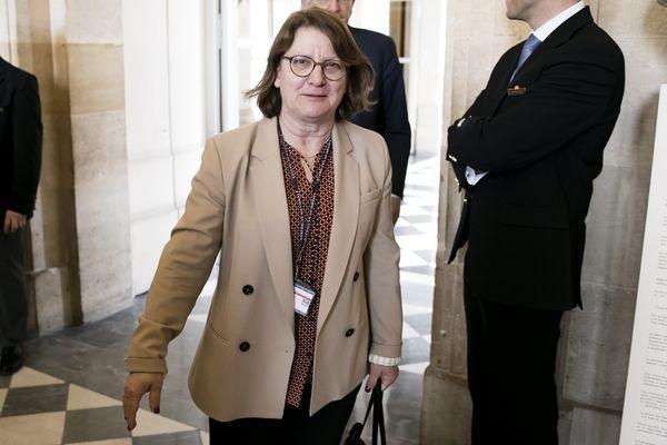 Nadia Essayan, députée du Cher, à l'Assemblée Nationale