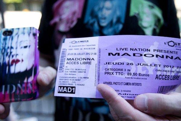 Un billet à 90 euros pour 45 minutes de concert...