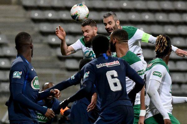 La victoire de l'AS Saint-Etienne face à l'équipe de Ligue 2 Paris FC a été difficile ce samedi 18 janvier.