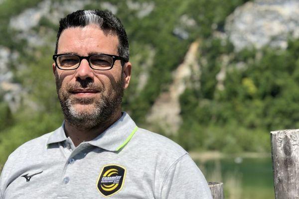 Erick Mathé est le coach du Club de Handball de Chambéry.