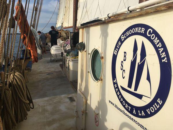 "La ""Blue Schooner company"" affrète Le Gallant"