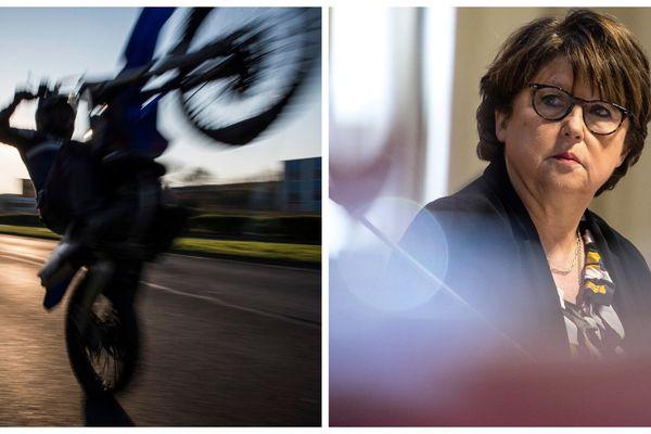 Martine Aubry veut des sanctions plus dures à l'encontre des amateurs de rodéos.