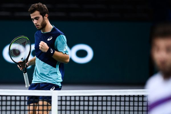 Le jeune Toulousain n'avait plus gagné un match sur le circuit principal depuis son succès au troisième tour de Roland-Garros face à Stan Wawrinka.