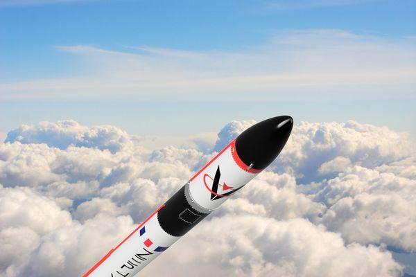 """""""Zephyr"""", la première fusée conçue en France depuis 1975."""