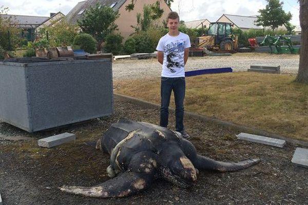 Miguel, le découvreur de la tortue géante de Donges