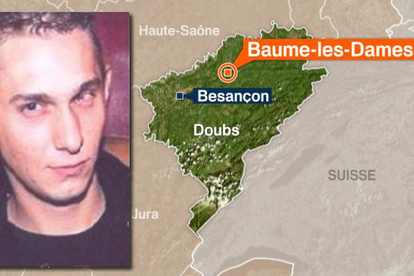 La gendarmerie recherche Jonathane Bertin, disparu le 12 décembre à Baume-les-Dames