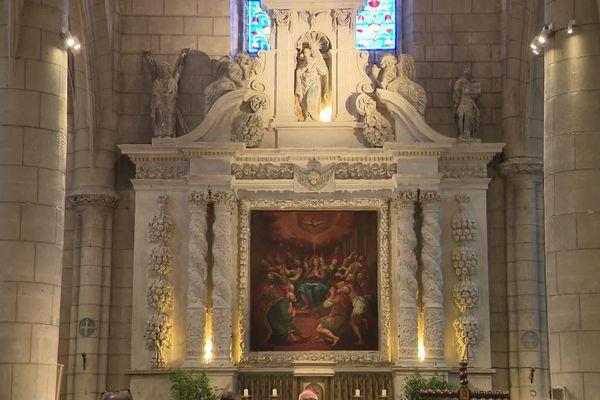 Le rétable de l'église St-André à Angoulême.