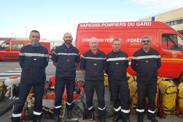 Nîmes : 5 pompiers du Gard dans le détachement de renforts partant lutter contre les feux de forêt en Grèce