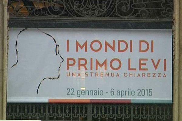 L'exposition sur l'œuvre de Primo Levi