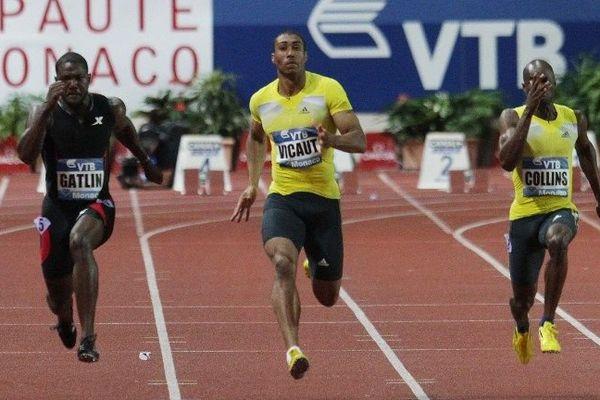 Gatlin remporte le 100m. Le Français Vicaut est 3ème