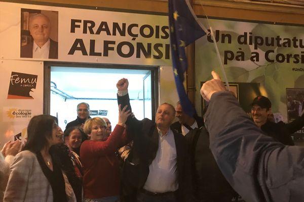 François Alfonsi est le seul euro-député corse élu au parlement européen.