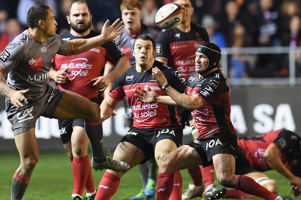 Toulon a battu Lyon 31-17, samedi 18 février, lors de la 18ème journée du Top 14