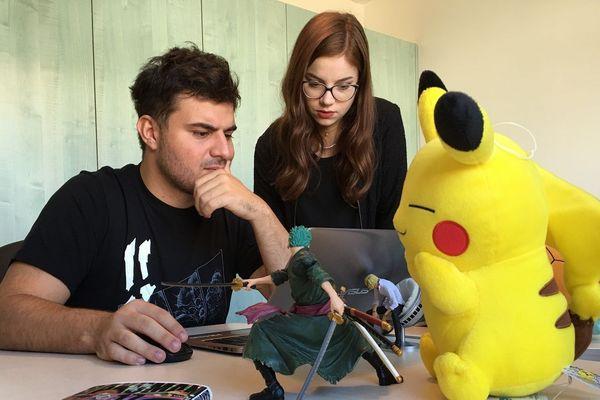 Jorge Martins et Elisabeth sont les créateurs de Sentaku, une maison d'édition de mangas à la française