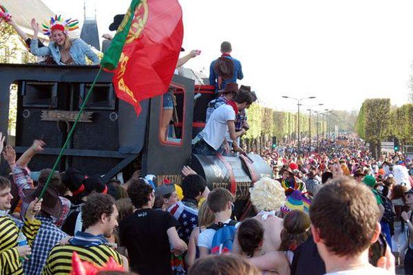 Carnaval étudiants à Caen (2014)