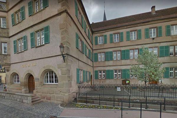 La mairie de Boersch dans le Bas-Rhin