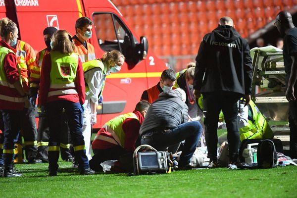 Prise en charge par les secours, la victime a été transportée à l'hôpital du Scorff où elle est décédée