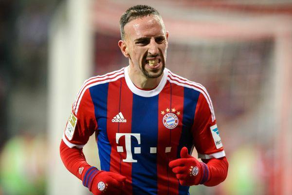 Franck Ribéry le 27 février 2015 à Munich