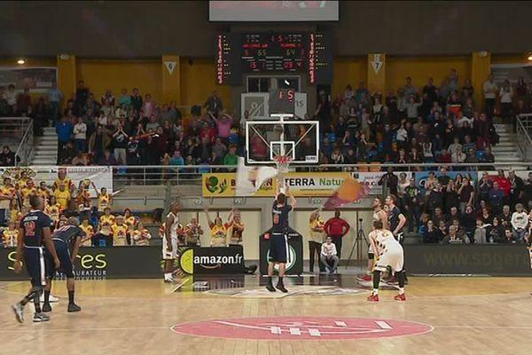 Basket : victoire d' Orléans sur le fil face à Roanne 65-64 - 20 janvier 2018