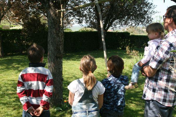 En Saône-et-Loire, la famille Drouard vit la Semaine Sainte dans le cadre du confinement
