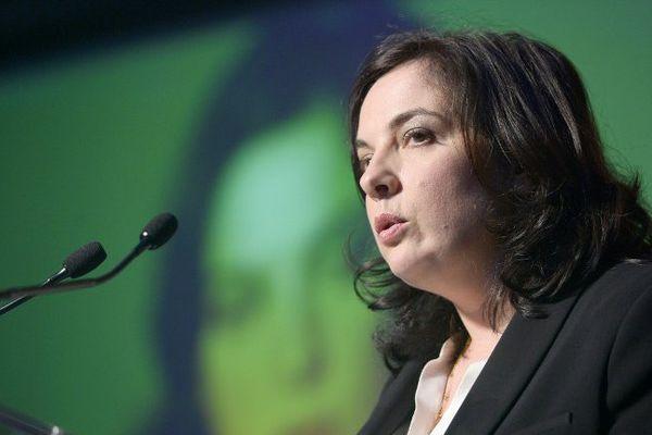La secrétaire nationale d'EELV Emmanuelle Cosse