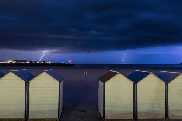 Orage du 21 mai à Boulogne-sur-Mer