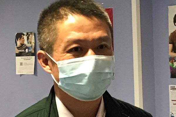 Laurent Chu, premier patient Covid en Europe recensé le 24 janvier 2020. Il revenait de Wuhan en Chine.