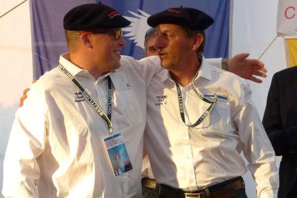 Vincent Leÿs et Christophe Houver (FRA 1)