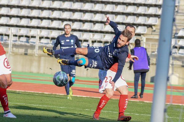 Le match Paris FC-Stade brestois, le 24 février 2018.