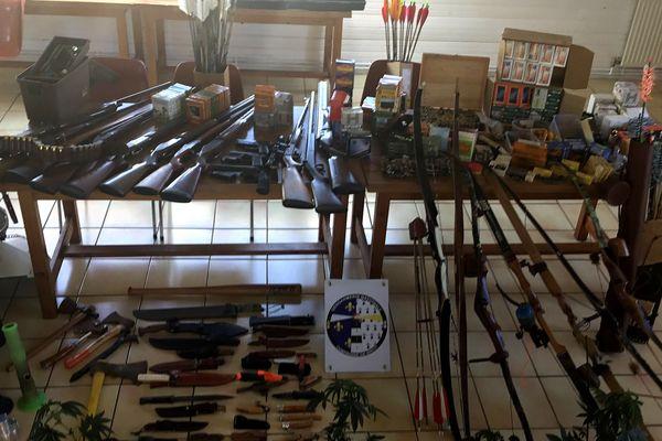 Un arsenal a été découvert au domicile d'un homme dans le Finistère
